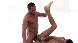 MissionaryBoys - Big cock Elder Ingles ass to mouth