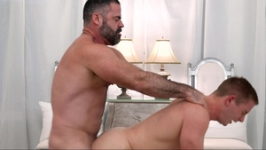 MissionaryBoys.com - Hairy furry Elder Kimball digs 3some