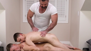 MissionaryBoys: Elder Garrett fingering sex tape