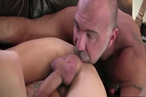 DADDY TRAINS YOUR pooper WITH HIS palpitating dick