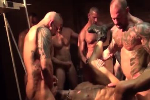 As A Bottom - My Fav Scene Compilation 09 (Muscle Tops In gangbang & orgy)