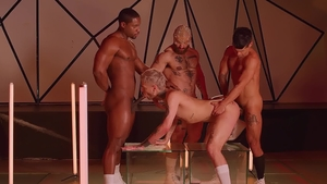 DrillMyHole - Ty Mitchell & Francois Sagat gets ass licked