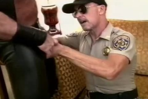 nice-looking Cop Unfathomable-face holes A meaty cock And Makes It love juice