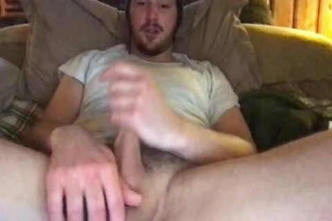enormous twink stroking His enormous penis