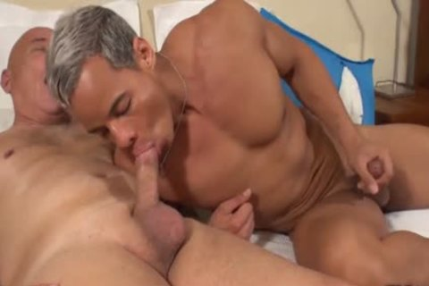 Interracial youthful daddy
