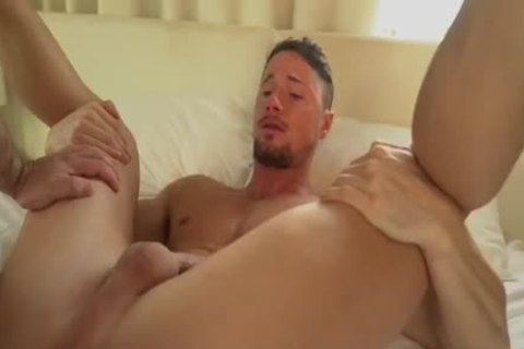 Muscle Alpha dude's Wrecking A Bro's vagina