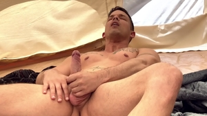 DrillMyHole: Nic Sahara with Michael DelRay doggy fucks