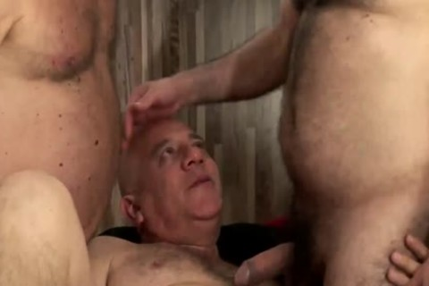 threesome daddy males