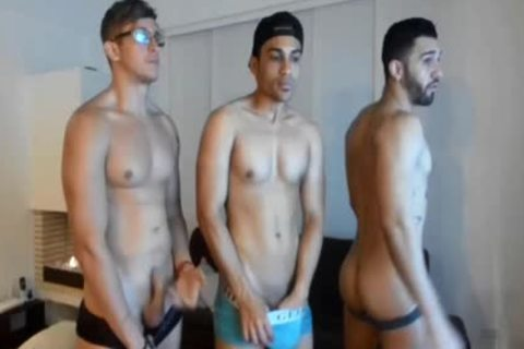three-some Live latina homosexual's Show