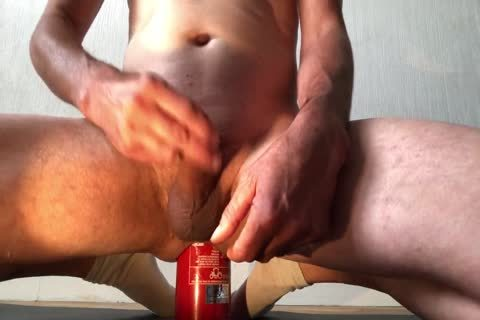 alluring Insertion bizarre Bottle butthole With ejaculation