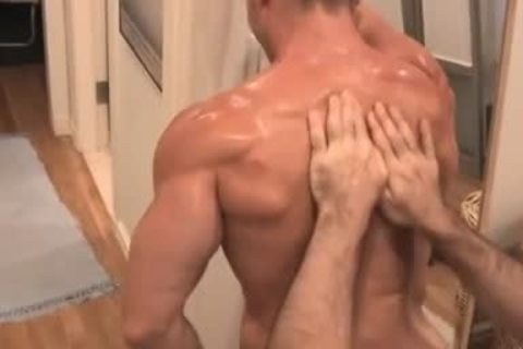 Muscle Worship With A happy Ending