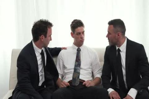 MormonBoyz - Two Hung Religious men hammer A Missionary lad