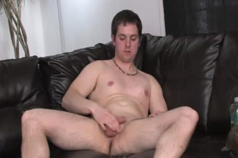 lewd Daddy Jerks Off On cam
