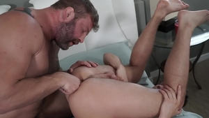 IconMale.com - Hairy & tattooed jock Colby Jansen blowjob cum