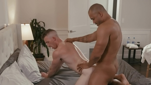 NoirMale - Gay Nick Fitt smashed by big penis Jason Vario