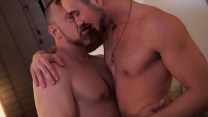 IconMale: DILF Mason Lear and Max Sargent dick sucking