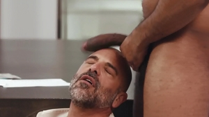 Noir Male: Ray Diesel in tandem with Adam Russo in office
