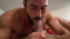 IconMale: Muscled Max Stark rimjob sex tape
