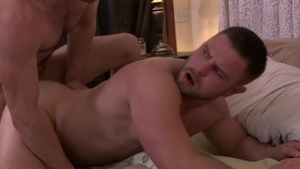IconMale: Gay Nick Sterling being pounded by huge cock guy