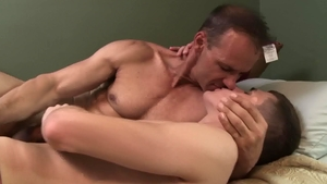 Icon Male: Kory Houston really enjoys hard pounding in HD