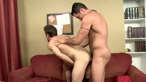 IconMale.com - American Nick Capra lusts rough nailing in HD