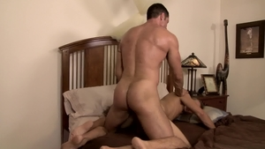 IconMale.com: Muscled Nick Capra and Alex Greene caught rimjob