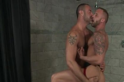 homo Sex : CJ MADISON & Derek Parker (bareback)