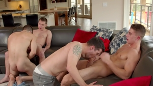 Next Door Buddies - Donte Thick sex with gay Elye Black