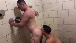 NextDoorHomemade: Caucasian Michael Boston rushes nailing