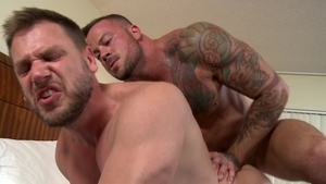 MenOver30 - Sean Duran in tandem with Hans Berlin anal fucked