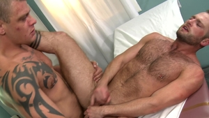MenOver30 - Aiden Hart in uniform & Jace Chambers anal