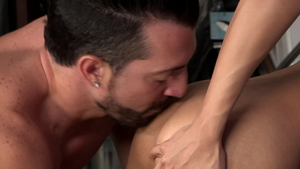 DylanLucas - Athletic Marco Montgomery raw rimming throat fuck