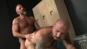 Pride Studios: Bald Rikk York & Matt Muck rimming video