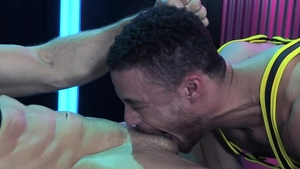 HotHouse: Roman Todd jerking Beaux Banks big penis