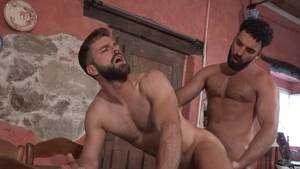 Hot House - Hairy Abraham Al Malek with latino Hector De Silva