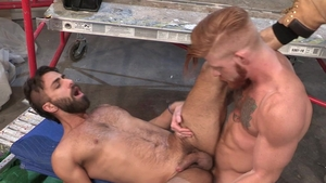 HotHouse.com: Hairy Bennett Anthony licks big dick