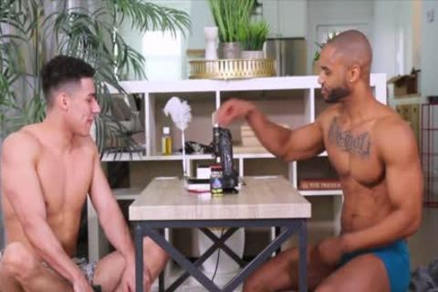 Mr monstrous rod Andre slips His chubby rod Into Marcus Von Ryder And 039 S wazoo And bangs It