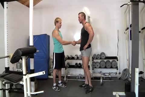The gay trainer