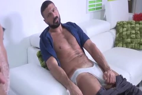 Brian Davilla And Marco Napoli - Bearded Bald Hung Beardad-bearded Hunk: Hj-rim-bb-oral-hj-sperm