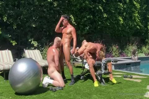 men In The Yard