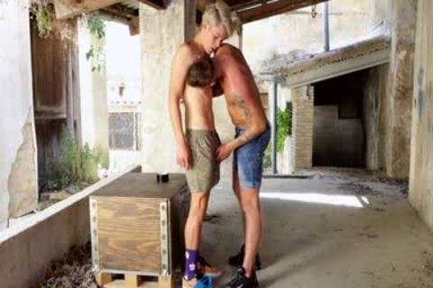 Blond twink villein likes To Be Used By His corporalist - Chastity